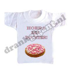 Hoera Een Dochter Flessen T-shirt