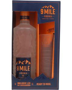 9 Mile Vodka Cadeaubox