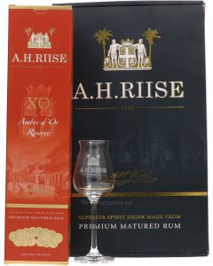 A. H. Riise XO Ambre D'Or Reserve Giftpack