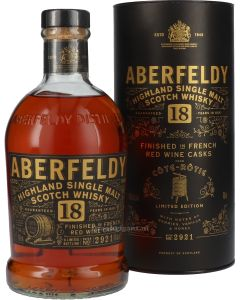 Aberfeldy 18 Year Cote Rotie Finish