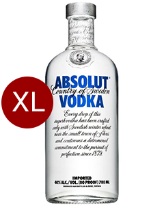 Absolut Vodka Original 4,5 liter XXL