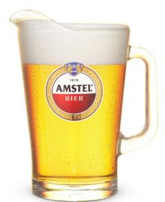 Amstel Pitcher 1,5 liter Glas