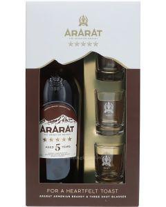 Ararat 5 Years Brandy Geschenkverpakking