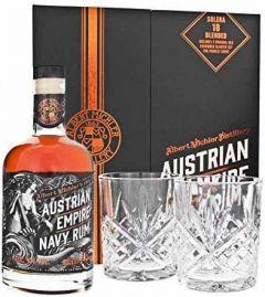 Austrian Empire Navy Rum Solera 18 Blended Giftpack