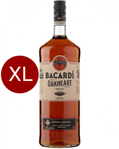 Bacardi Oakheart 1.5L XXL