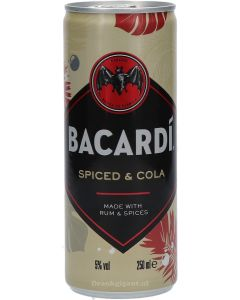 Bacardi Spiced & Cola