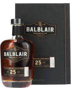 Balblair 25 Years