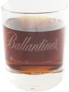 Ballantines Go-Play Glas