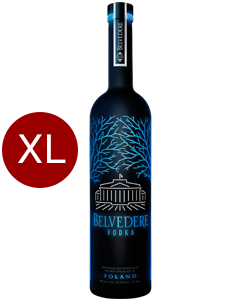 Belvedere Vodka Black Midnight Saber Led XL