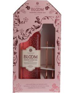 Bloom Jasmine & Rose Giftpack Copper Straws
