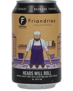 Brouwerij Frontaal Heads Will Roll Imperial White Stout