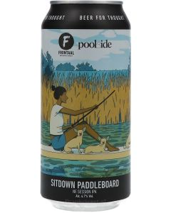 Brouwerij Frontaal Sitdown Paddleboard NE Session IPA