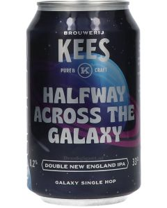 Brouwerij Kees Halfway Across The Galaxy Double New England IPA