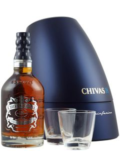 Chivas Regal 18 Year Pininfarina box luxe OP=OP