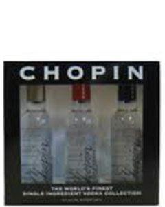 Chopin Vodka setje 3-pack