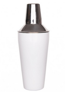 Cocktail Shaker Angel White