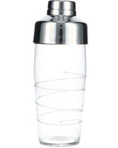 Cocktail Shaker Helder Glitter Spiral