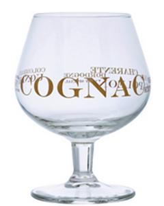 Napoli Cognac Glas