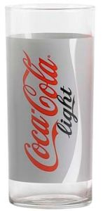Coca Cola Light Longdrink Glas