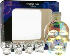 Crystal Head Aurora Gift Set met Glazen