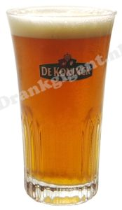 De Koninck Tulp Ribbel Bierglas