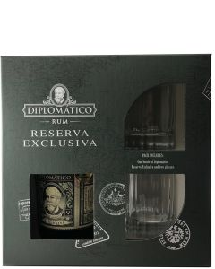 Diplomatico 12 year Reserva Exclusiva Giftpack