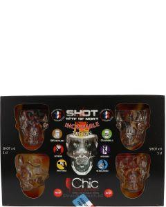 Doomed Skull Cadeau set (6 skulls)