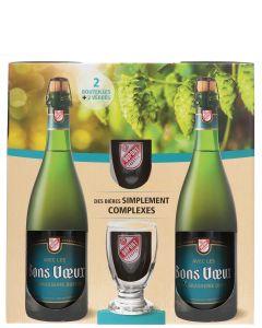 Dupont 2x Bons Voeux + Glazen