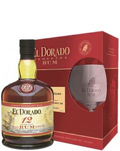 El Dorado 12 Year Old Giftpack + Balloon Glas