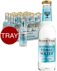 Fever Tree Mediterranean Tonic Tray 24 stuks