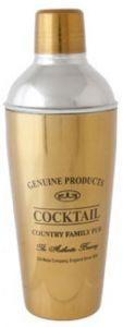 Genuine Cocktailshaker Gold 75CL