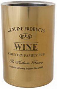 Genuine Wijnkoeler Gold