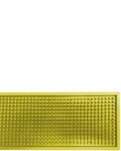 The Bars Dripmat Yellow