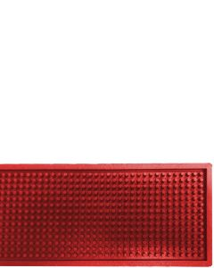 The Bars Dripmat Red