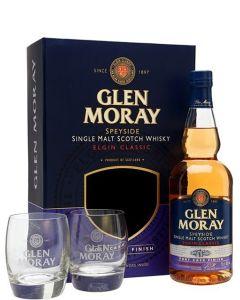 Glen Moray Port Cask Cadeaubox + 2 glazen
