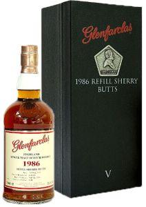 Glenfarclas 1986 Refill Sherry Butts V