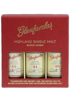 Miniset Glenfarclas 15/21/25