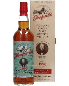 Glenfarclas The Spirit Of Independence 1990 No. 24