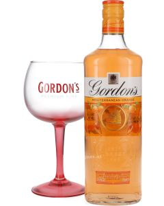 Gordon's Mediterranean Orange + Balloon Glas