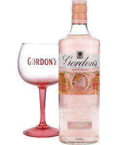 Gordon's White Peach + Balloon Glas
