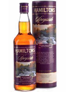 Hamiltons Speyside Single Malt Whisky