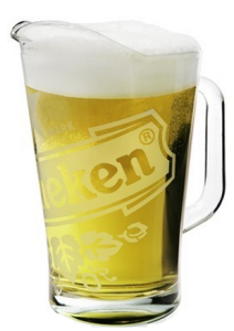 Heineken Pitcher 1,5 liter Glas