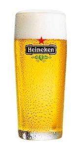 Heineken Bierglas Fluitje/Raaf 18cl