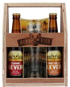 Hert Bier Cadeaupakket