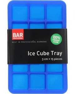 Ice Cube Tray 3 cm 15 pieces Donker Blauw