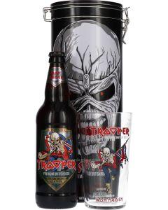 Iron Maiden Trooper Black Gift-Tube
