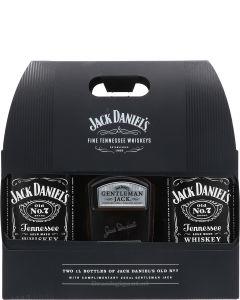 Jack Daniels Tennessee Whiskeys + Gentleman Jack
