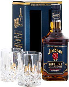 Jim Beam Double Oak Giftpack