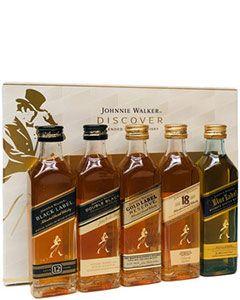 Johnnie Walker Discover Johnnie Setje 5x5cl