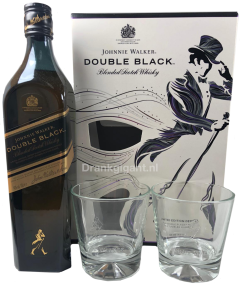 Johnnie Walker Double Black Giftpack